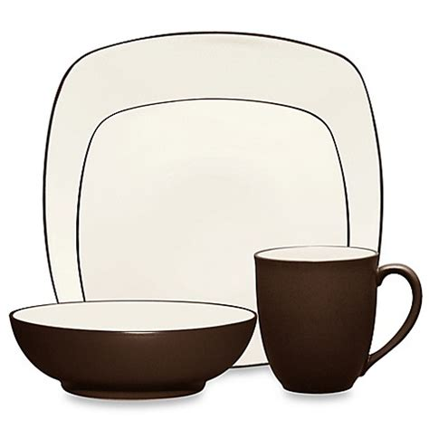 bed bath and beyond china noritake 174 colorwave square dinnerware collection in
