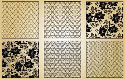 lace pattern ai lace pattern vintage style vector free download