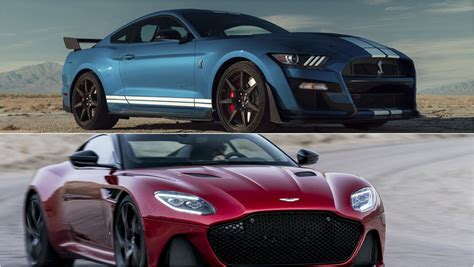 2020 ford mustang 2020 ford mustang shleby gt500 vs 2019 aston martin dbs