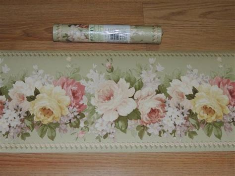 17 best images about shabby chic wallpaper boarder