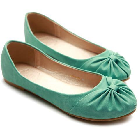 multi color flat shoes ollio s ballet shoe comfy bow