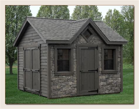 siding options for sheds