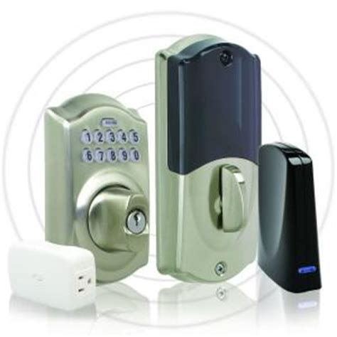 home depot schlage link camelot keypad deadbolt lock set