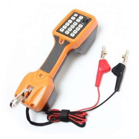 test linea telefonica telefono de prueba para lineas telefonicas proskit mt 8001