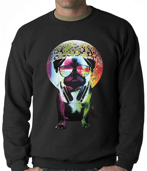 disco pug disco pug crewneck