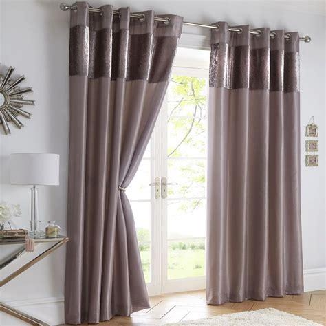 tony s curtains boulevard mink velvet border eyelet curtains