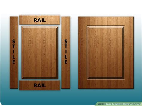 How To Build Cabinet Door How To Make Cabinet Doors 9 Steps With Pictures Wikihow