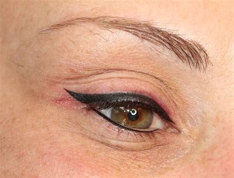 eyeliner tattoo pictures thick permanent makeup eyeliner tattoos