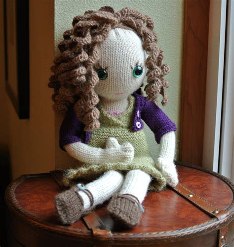 how to knit a doll pixie doll vuchickens