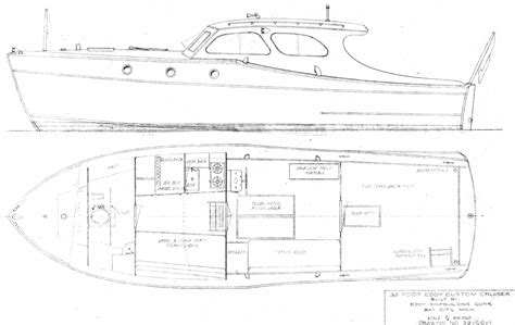 Micro Cabin Plans 32 Eddy Custom Cruiser