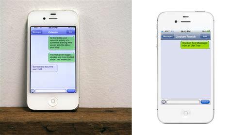 text message tree drunken text messages from an oak tree