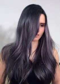 purple gray hair color silver purple blue lavender hues hair colors ideas