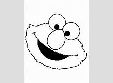 Sesame Street Elmo Face Coloring Page   H & M Coloring Pages Elmo Face Coloring Page