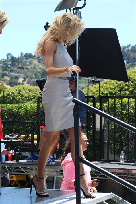 Charlotte Mckinney On The Set Of Extra In Universal City | charlotte mckinney on the set of extra in universal city