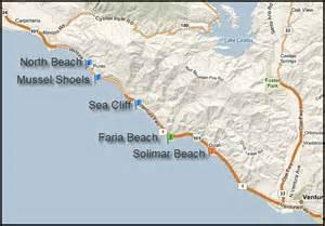 ventura california map front homes