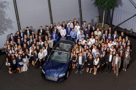 Audi Duales Studium by Audi 252 Bernimmt 117 Auszubildende Und 17 Dual Studierende
