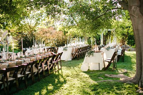 In The Backyard Or On The Backyard by Relaxed Backyard Wedding Heidi Joshua Green