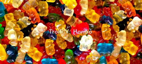 Wtroli Set 4 trolli v haribo shaun medium
