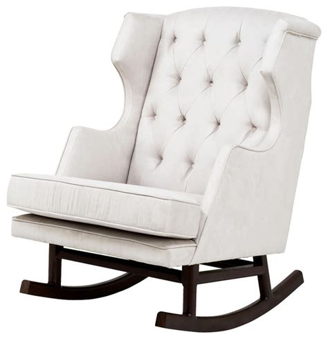 Modern Rocking Chair For Nursery Nurseryworks Empire Rocker Modern Rocking Chairs By New Arrivals Inc