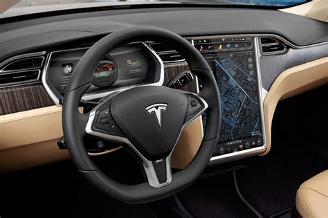 tesla car interior pictures changing gears auto makers ditch familiar shift levers wsj