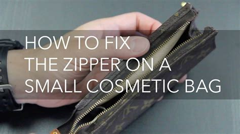 how to get on fixer how to fix a zipper on a small cosmetic bag ucan zippers usa