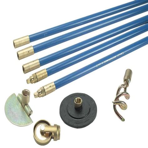 Bailey Plumbing by Bailey 1324 Lockfast 3 4in Drain Rod Set 4 To