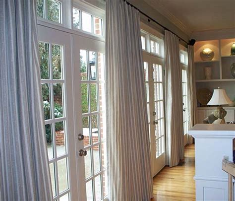 Window Treatment For Doors by Door Curtain Ideas