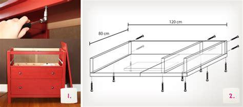 Wickeltischaufsatz für Ikea Kommode selber bauen   kullaloo