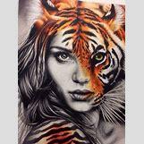 Half Lion Half Tiger Art | 398 x 534 jpeg 53kB