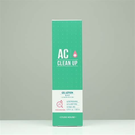 Lotion Etude etude house ac clean up gel lotion review