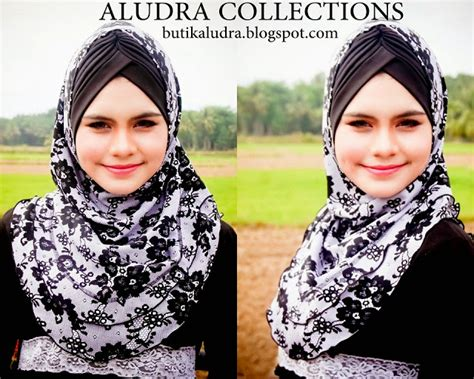 Haura Maxi butik aludra floral black lace digital prints