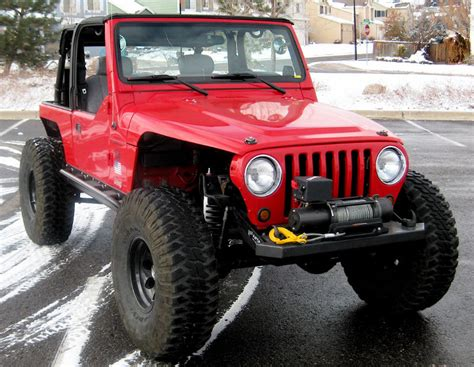 Jeep Without Fenders Remove Fenders On A Tj Nc4x4