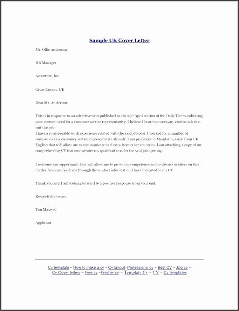 cv covering letter templates uk 10 covering letter template for cv sletemplatess