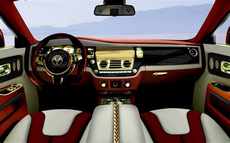 rolls royce gold interior rolls royce ghost diva by fenice milano more powerful