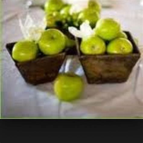 apple centerpieces green apple centerpieces baby s on the way