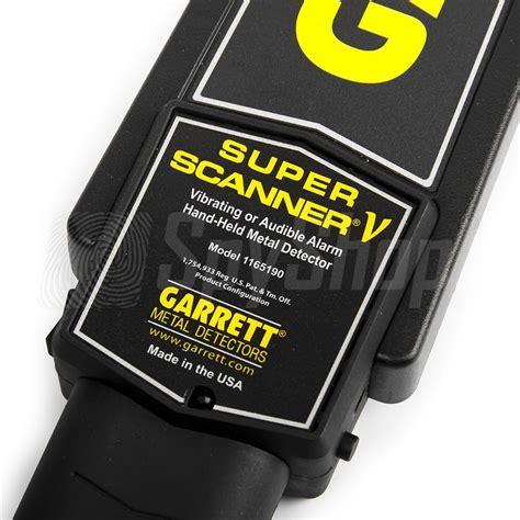 Garret Scaner portable metal detector garrett scanner 174 v