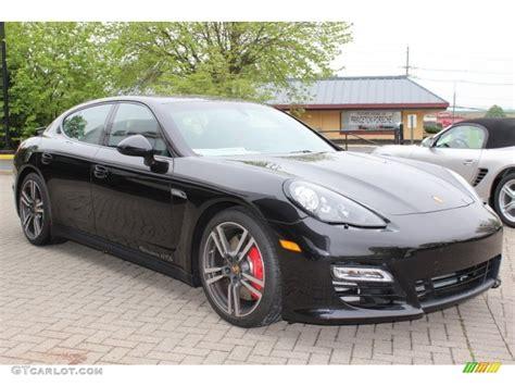 Porsche Panamera Gts Schwarz by 2013 Basalt Black Metallic Porsche Panamera Gts 64664385