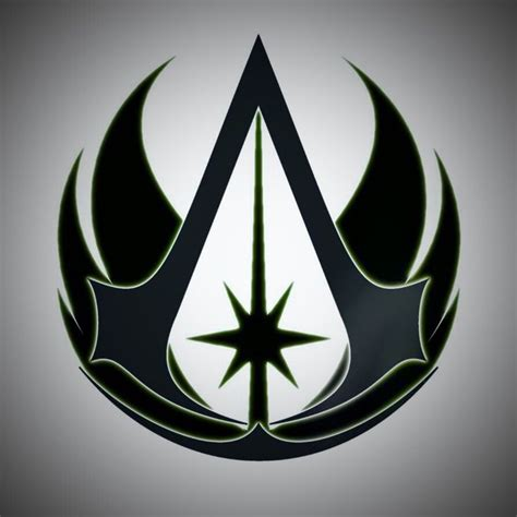 jedi tattoo designs jedi assassins creed logo wars