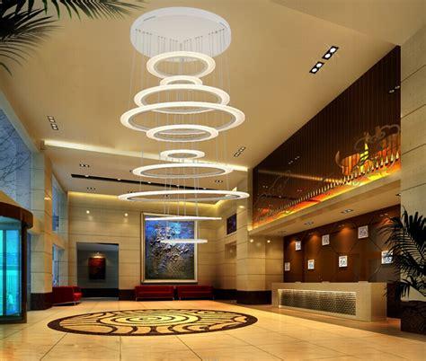 Pendant Light Dining Room circle large led chandelier light for hotel lobby buy