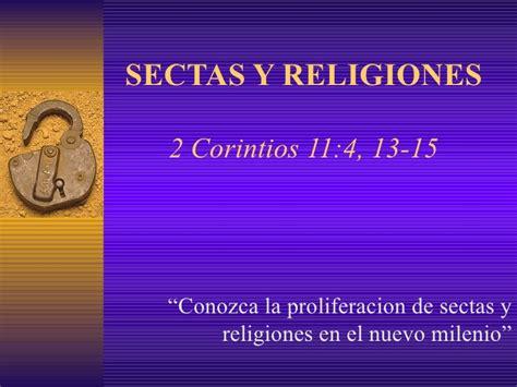 noticias sobre libertad religiosa y religiones sectas y religiones