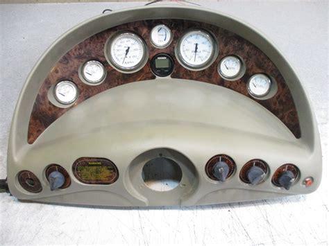 boat dash gauges 1998 glastron gs 205 boat dash panel instrument cluster