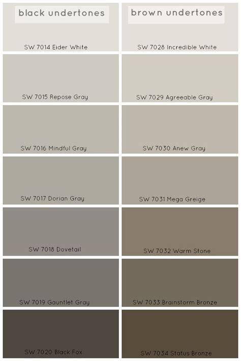 paint colors grey 25 best ideas about warm gray paint on pinterest