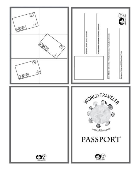 uk passport photo template passport template 19 free word pdf psd illustrator