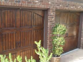 Faux Painting Styles - faux garage doors
