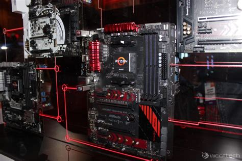 Asrock Ab350 Gaming K4 Ryzen Am4 amd ryzen am4 platform with high end x370 boards showcased
