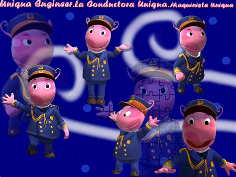 Backyardigans Uniqua What Is She Uniqua The Engineer By Backyardigansgs On Deviantart