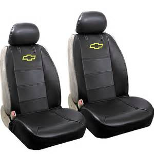 Car Seat Covers For Chevy Trucks 6pcs Chevy Chevrolet Front Low Back Seat Cover Rear Bench