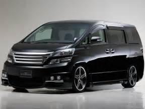 Toyota Luxury Car Sight Toyota Vellfire The Power Luxury Cars