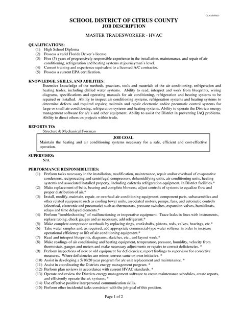 Air Conditioning Mechanic Sle Resume by Air Conditioning Mechanic Sle Resume Phone Sales Representative