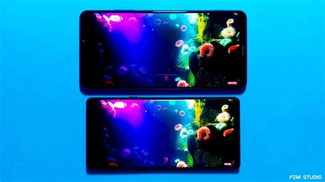 Samsung Galaxy Note 10 4k Display by Samsung Galaxy Note 9 Vs Huawei Honor Note 10 Display Quality Comparison Test 4k